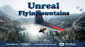 UNREAL FLY IN MOUNTAINS
